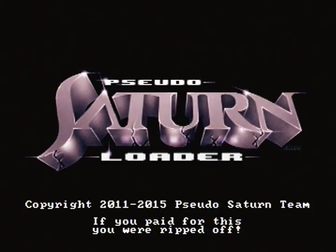 Pseudo Saturn. If you paid for this, you were ripped off !